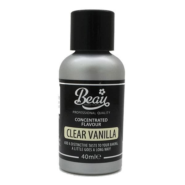 Beau Products 40ml Clear Vanilla Flavouring