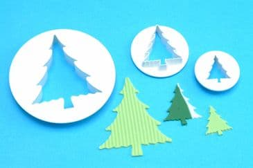 Christmas Tree Cutters Set of 3
