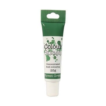 Colour Splash Edible Food Colouring Paste / Gel Forest Green 25g