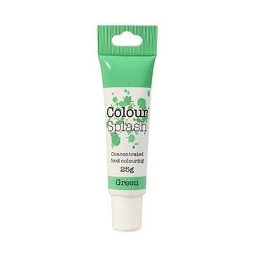 Colour Splash Edible Food Colouring Paste / Gel Green 25g
