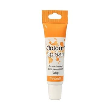 Colour Splash Edible Food Colouring Paste / Gel Orange 25g