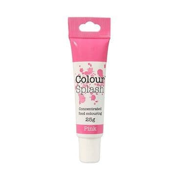 Colour Splash Edible Food Colouring Paste / Gel Pink 25g
