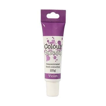 Colour Splash Edible Food Colouring Paste / Gel Violet / Purple 25g