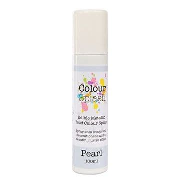 Colour Splash Edible Food Pearl Lustre Spray 100 ml