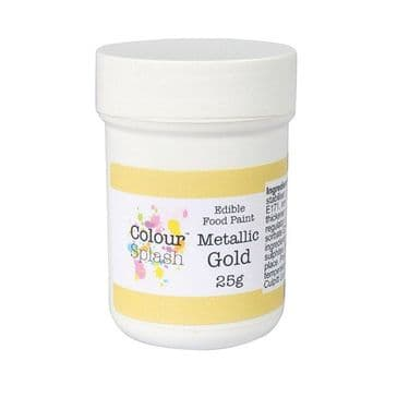 Colour Splash Edible Metallic Gold Food Paint