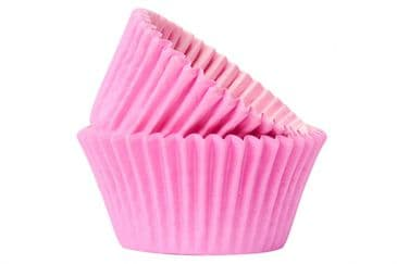 Doric Pink Cupcake / Muffin Cases Pack of 50 Approx