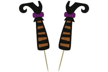 Kelsi Marsh - Witches Legs Cake Topper