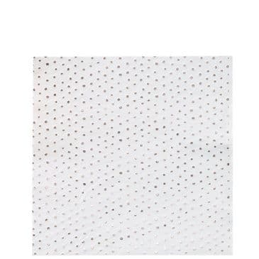 Pick and Mix Rose Gold Spotty Foiled Paper Napkins - 33cm (clearance)