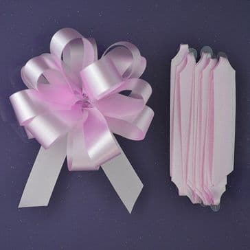 Quick Pull Bow - Pink