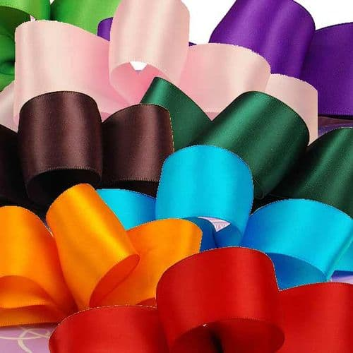 Satin Ribbon 15mm by the Reel