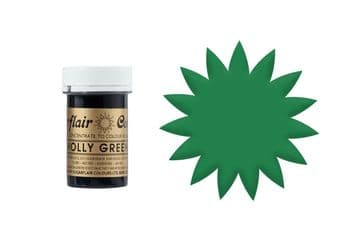 Sugarflair Gel Food Colouring Paste 25g - Holly Green