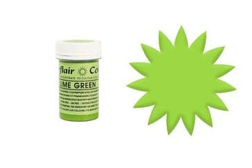 Sugarflair Gel Food Colouring Paste 25g - Lime Green