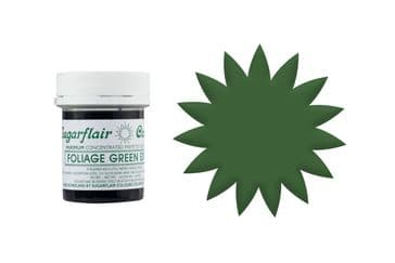 Sugarflair Gel Food Colouring Paste 42g Pot - Foliage Green Extra